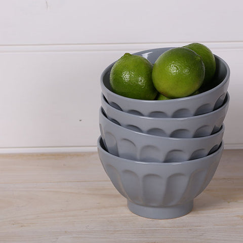 Ceramic Bowl Grey