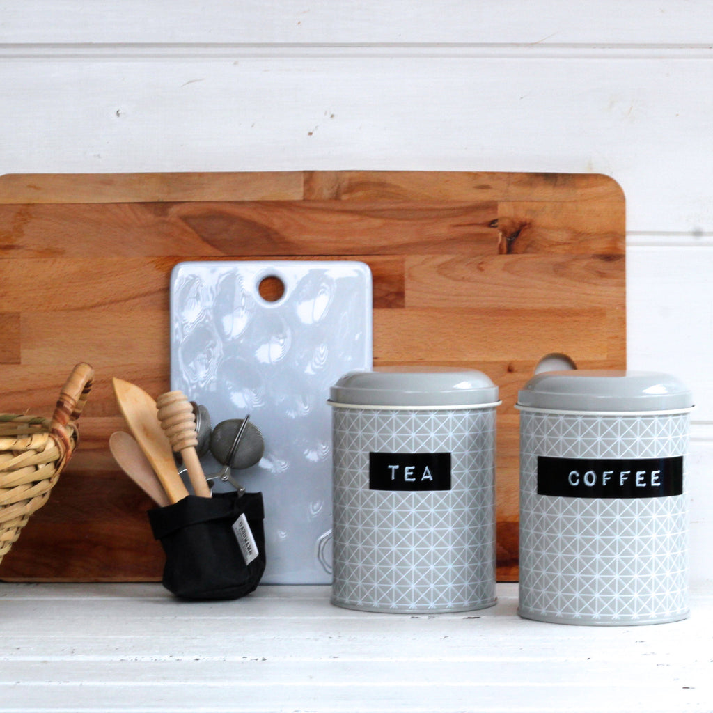 Canisters 'Coffee' and 'Tea' Set/2