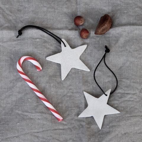Concrete star decoration (4 in stock)