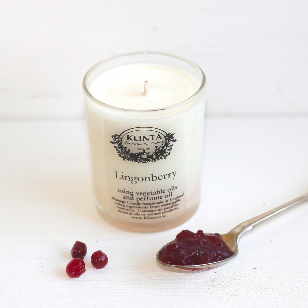 Klinta Scented Candle Lingonberry