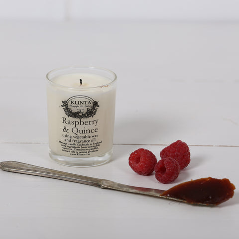 Klinta Scented Candle Raspberry & Quince
