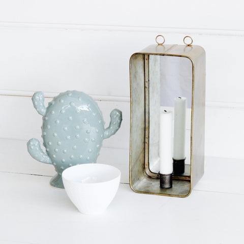 Mirror with Candleholder