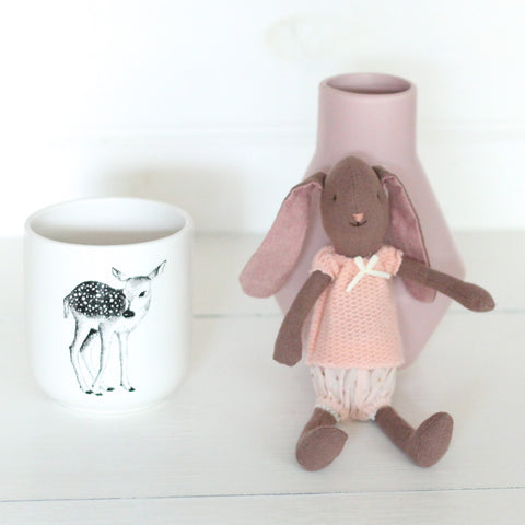 Maileg Bunny Girl Brown Mini