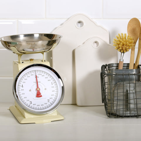 Kitchen Scales Cream