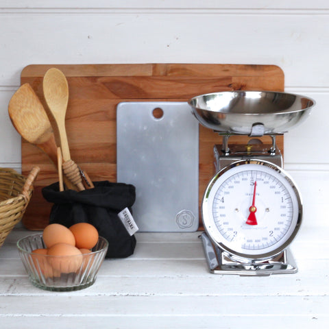 Kitchen Scales Silver