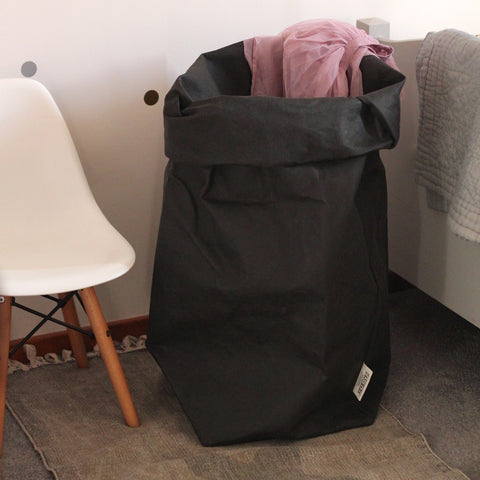 Washable Paperbag XXL Oversize Black