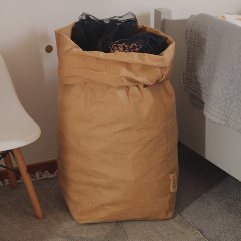 Washable Paperbag XXL Oversize Brown