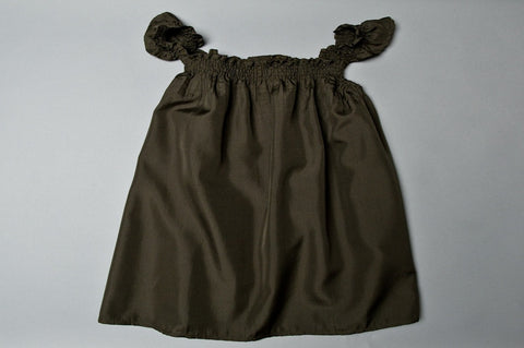 Brown Baby Dress