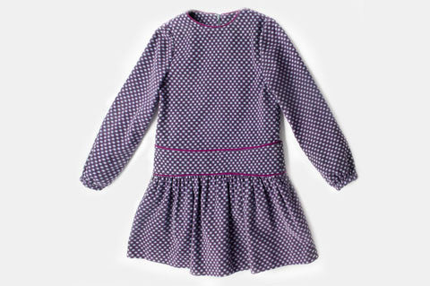 Purple Corduroy Jane Dress