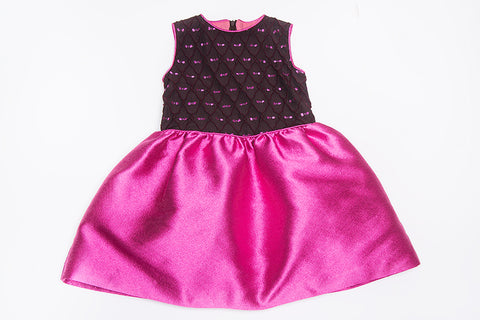 Ellen Sleeveless Puff Dress