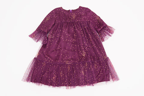 Purple Anabelle Dress
