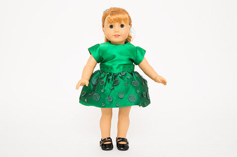 Green Nancy Doll Dress