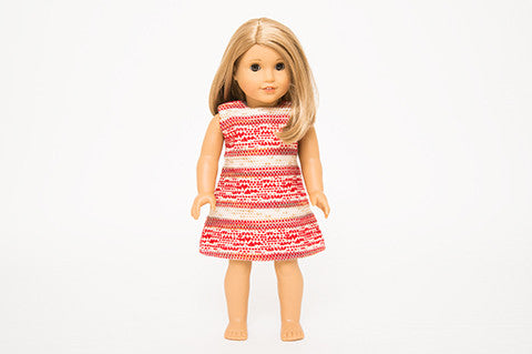 Red Eloise Doll Dress