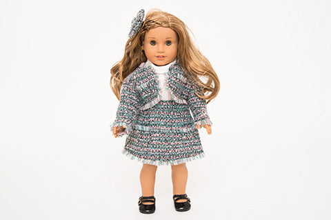 Green and Pink Coco Doll Suit
