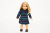 Blue Eloise Doll Dress and Jacket