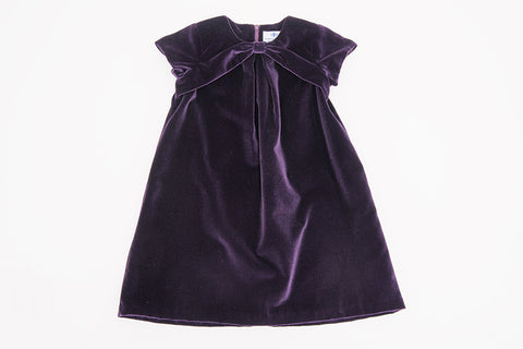 Purple Korinne Dress