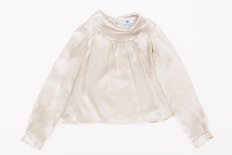Pearly Gray Josie Blouse