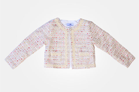 Pink Tweed Coco Jacket