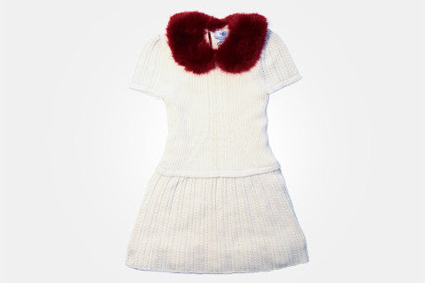 Alexandra Cream Knit Dress