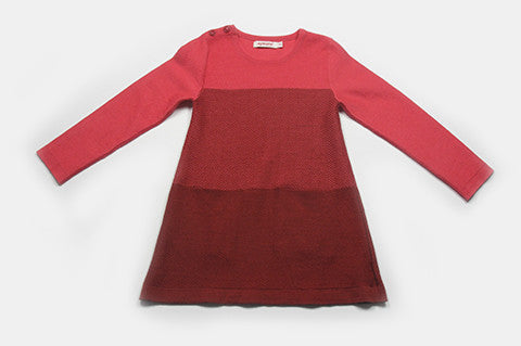Red Loren Knit Dress