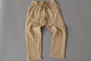 Khaki Drawstring Pants