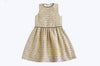 Blair Beige With Black Sequins Dress