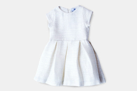 Winter White Tweed Charly Dress
