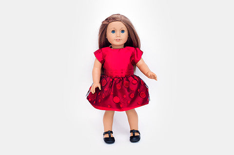 Red Nancy Doll Dress