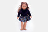 Purple Velvet Jude Doll Dress