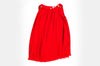 Red Katie Plisse Dress