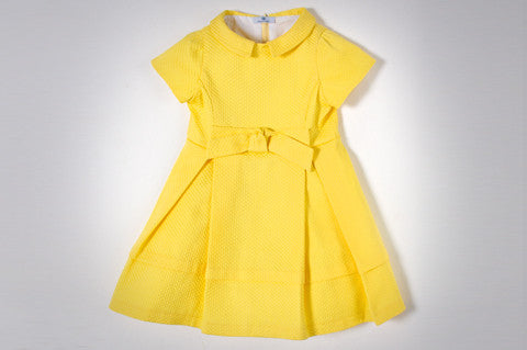 Yellow Sabrina Dress