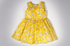 Yellow Daisy Avery Dress