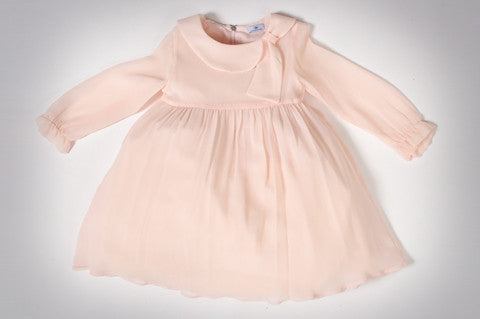 Pink Chiffon Chloe Dress