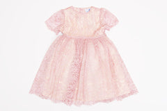 Pink Cyra Lace Dress