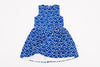 Blue Aubrey Heart Dress