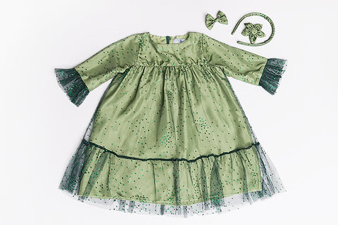 Green Emma Dress