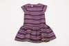 Purple Striped Beverly Dress