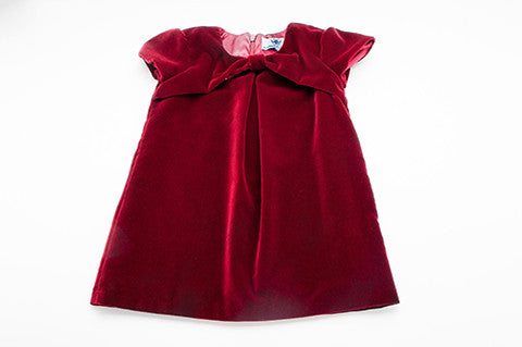 Red Velvet Korinne Dress