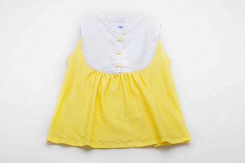 Yellow Meredith Top
