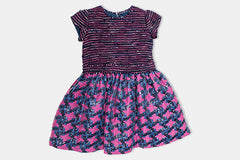 Purple and Pink Alice Dress