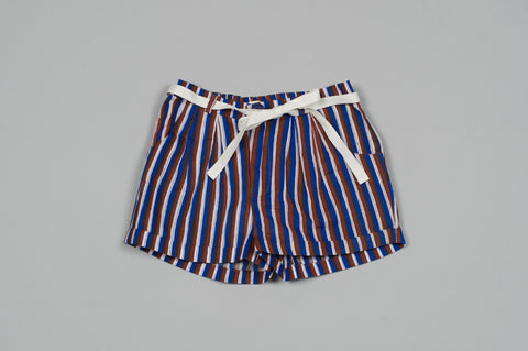 Striped Royal Shorts