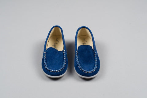 Electric Blue Mocassin