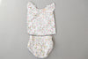 White Dolphin Milan Baby Dress With Bloomers