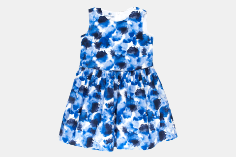 Blue Audrey Dress