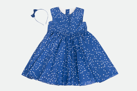 Blue Valerie Star Dress