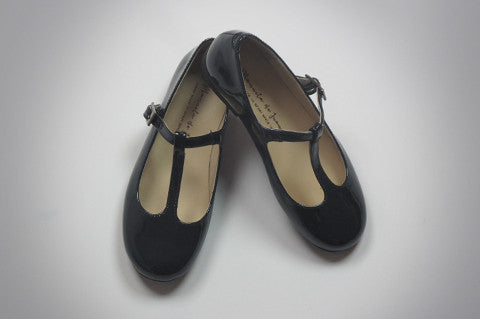 Navy Patent Charlotte Shoe