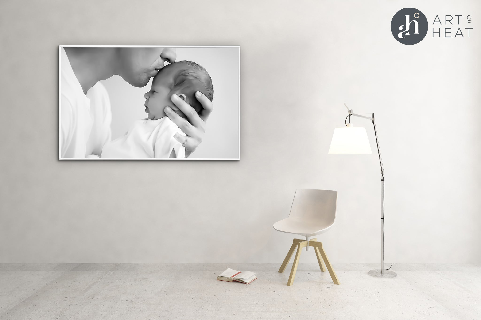 Canvas Collection Matte Panels (With Frame) - Price Includes Packaging & Delivery
