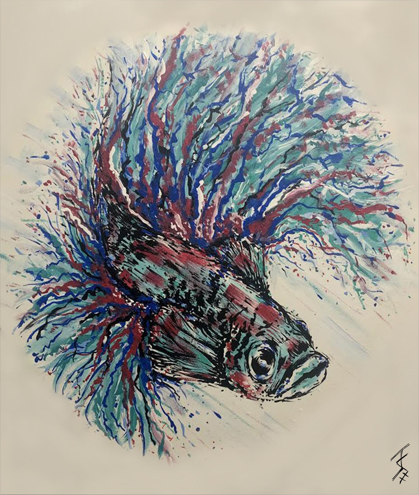 Limited Edition Poisson Panels - Price Includes Packaging & Delivery