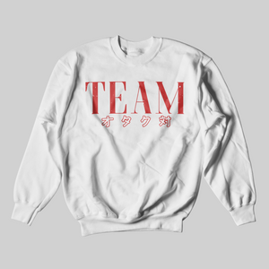 TEAM OTAKU SWEATER RED