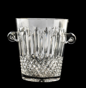 A good quality vintage cut crystal Champagne cooler, French Circa 1940